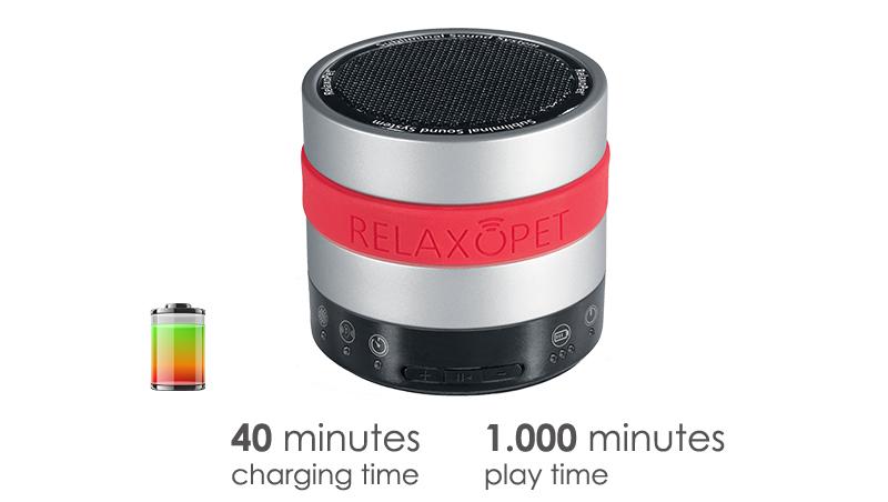 RelaxoPetPROのバッテリー
